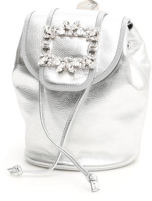 Roger Vivier Broche Mini Backpack