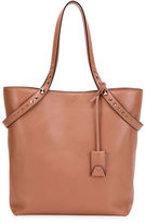 Valentino Lovestud Leather Tote Bag