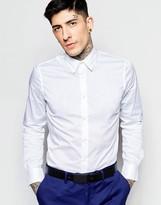 Sisley Slim Fit Poplin Stretch Shirt