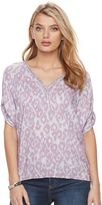 Juicy Couture Women's Shirred Dolman Top