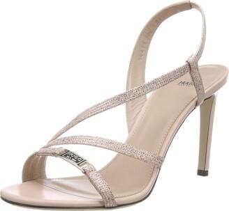 HUGO BOSS Women's Mayfair Sandal 90-l Sling Back