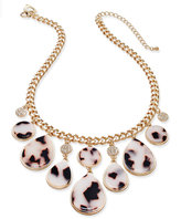 Thalia Sodi Gold-Tone Tortoiseshell-Look Statement Necklace, Only at Macy's