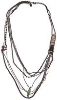Iosselliani multi strand long necklace