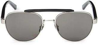 Calvin Klein 54MM Aviator Sunglasses