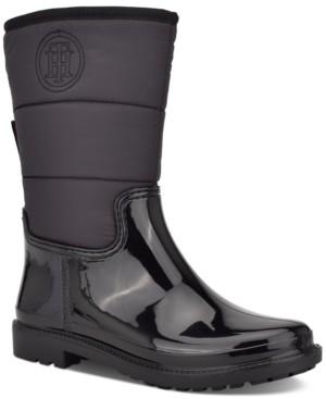 Tommy Hilfiger Snows Rain Boots Women's Shoes