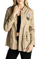 Minx Khaki Cargo Jacket