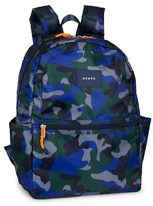 State Bags Kane Recycled Ripstop Camo Backpack