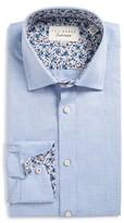 Ted Baker Men's Prosper Trim Fit Solid Dress Shirt