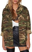 haoduoyi Womens Loose Coats Disposition Outwear Jackets (XXL)