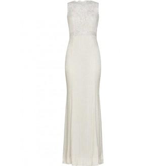 RALPH & RUSSO White Silk Dress for Women