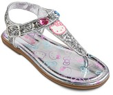 Hello Kitty Toddler Girls' Shimmer Thong Sandals