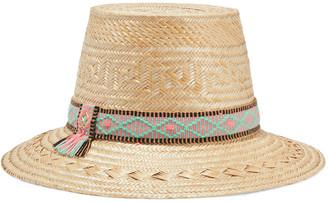 Yosuzi Lucy Woven Straw Hat