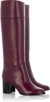 Tuba knee high boots