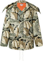 Loewe x William Morris Acanthus print puffer jacket