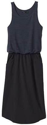 Prana Buffy Dress (Black) Women's Dress