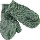 Ketiketa Moss Stitch Wool Mittens