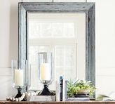 Pottery Barn Distressed Wood Mirror