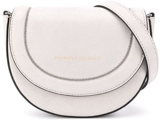 BRUNELLO CUCINELLI KIDS Cross Over Saddle Bag