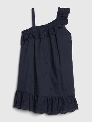 Gap Toddler Asymmetrical Ruffle Dress
