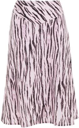 Baum und Pferdgarten Senga Tiger-print Crepe Skirt