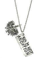 Alisa Michelle No Is Not An Option Necklace