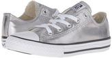 Converse Chuck Taylor® All Star® Metallic Canvas Ox (Little Kid)