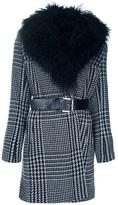 Michael Kors houndstooth coat