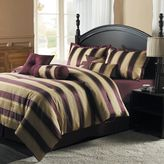 Victoria Classics monroe stripe 8-pc. comforter set - queen