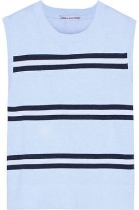Autumn Cashmere Cotton By Striped Cotton Vest