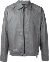 Lanvin collared leather jacket - men - Lamb Skin - 46