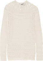 Isabel Marant Drewitt open-knit cotton sweater