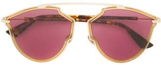 Christian Dior So Real aviator sunglasses