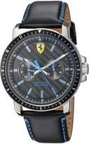Ferrari Men's 830448 Sport Turbo Multi. 42mm Ss Case Dial W. Blue Accents Watch