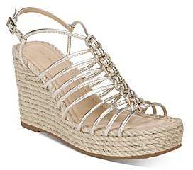 Via Spiga Women's Selma Strappy Espadrille Wedge Sandals