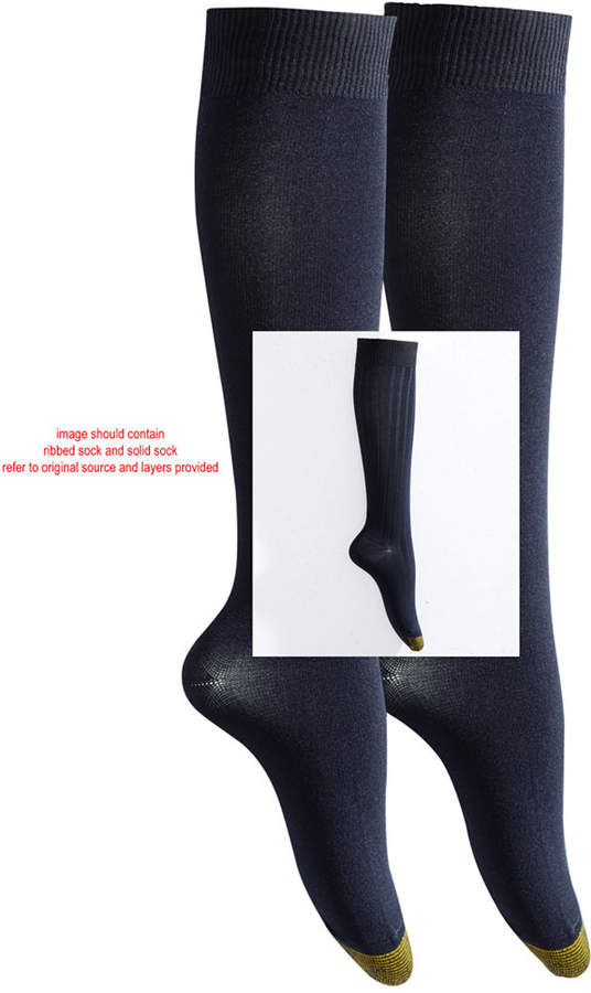 Gold Toe Women's 2-Pk. Ultra Soft Knee High Socks