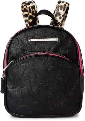 Betsey Johnson Backpack with Bow Strap