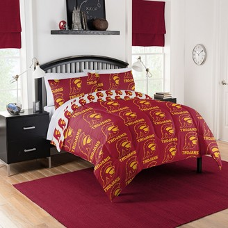 NCAA University of Southern California Queen Bedding Set by Northwest