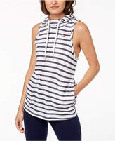 Tommy Hilfiger Striped Sleeveless Hoodie, Created for Macy's