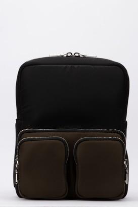 Prada Front Pocketed Backpack