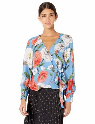 Parker Women's Sheridan Long Sleeve Wrap Blouse