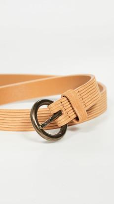 Madewell Cut Leather Belt