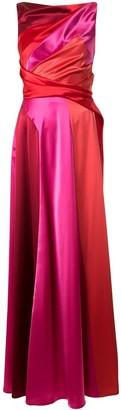 Talbot Runhof Solymar10 satin-crepe gown