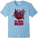 Marvel Deadpool Be Mine Nerd Graphic T-Shirt