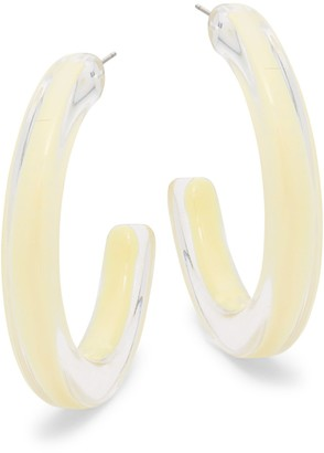Ava & Aiden Clear Hoop Earrings