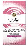 Olay Active Hydrating Beauty Fluid Lotion, 4.0 fl oz (Pack of 2)