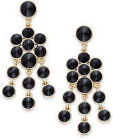 Charter Club Crystal Chandelier Earrings, Only at Macy's
