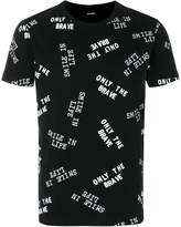 Diesel printed slogan T-shirt
