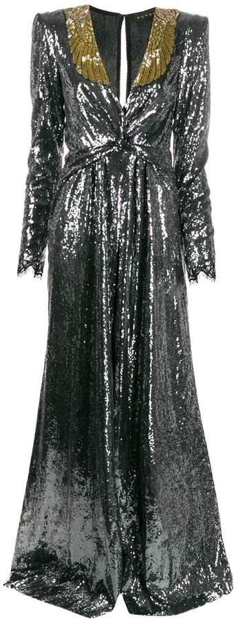 Dundas sequin-embellished gown