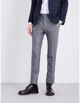 Lardini Regular-fit Tapered Wool Trousers