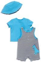 Offspring Infant Boys' Dinosaur Tee, Romper & Hat Set - Sizes 3-9 Months